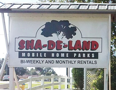 Sha De Land 1 11 Mobile Home Parks Trailer Park Family Mobile